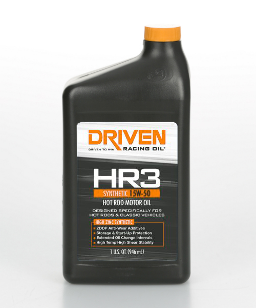 Driven HR3 15W-50 Synthetic
