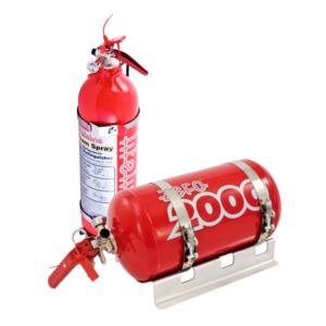 Lifeline 4 ltr plumbed in extinguisher kit