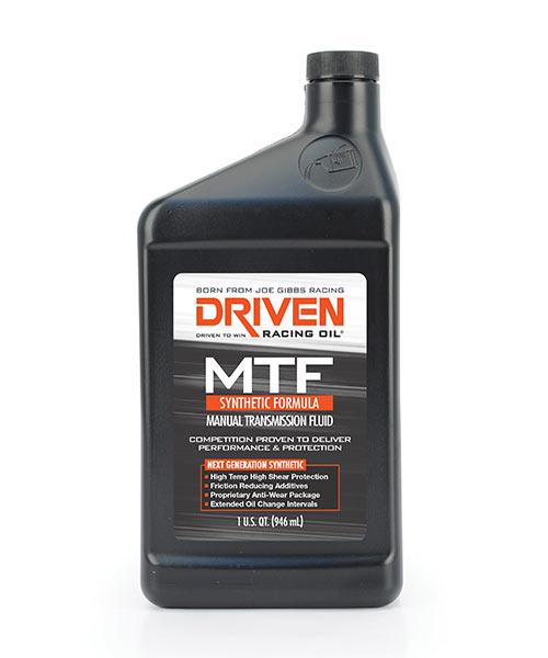 Driven 80W manual transmission fluid (MTF)