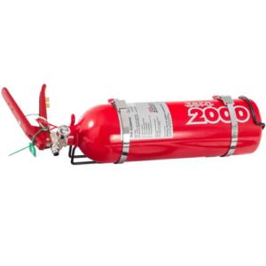 Lifeline 2.25ltr plumbed in extingushier kit